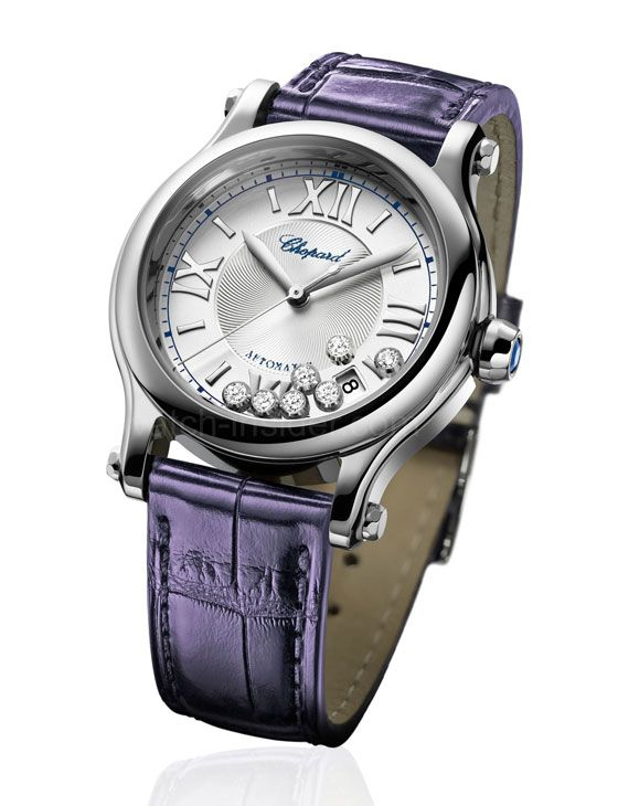 www.watchtime.com   blog    Watch Insiders Top 15 Ladies Watches of 2013   Chopard Happy Sport Medium Automatic560 #chopard
