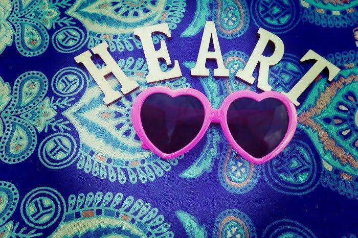 文字アート『HEART』