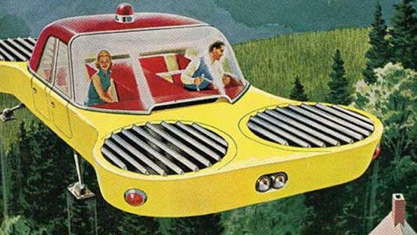 flying car ad: Retrofuture, Flying Cars, Retro Cars, Retro Futurism, Popular Mechanical, Spaces Age, Retro Future, Future Cars, Sci Fi