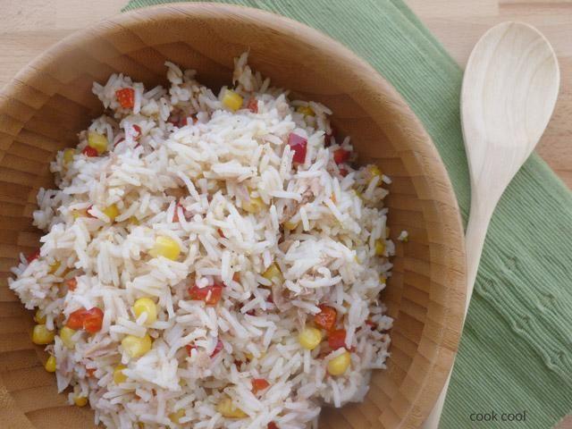 Ρυζοσαλάτα με τόνο | cookcool