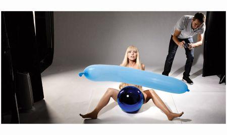 Lady Gaga 2013 shooting Jeff Koons