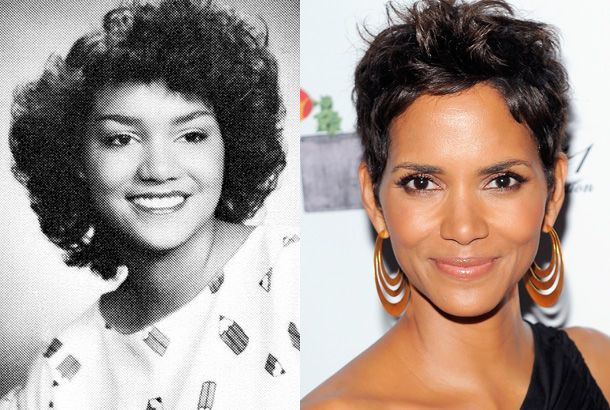 halle berry young high school yearbook 1984 photo red carpet 2011