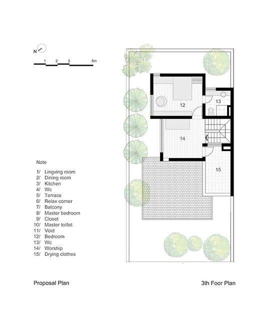 EPV House,Proposal Plan - Third Floor Plan