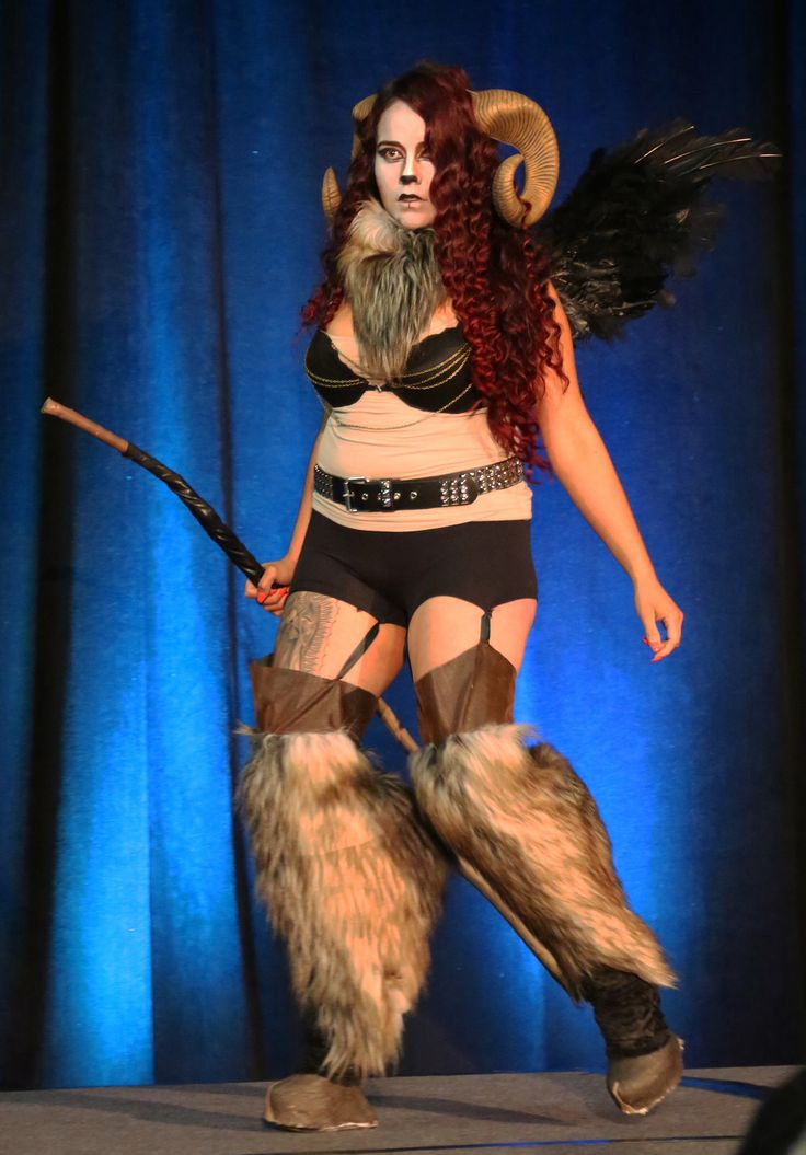 https://flic.kr/p/rFLKUV | Costume Contest! A Baphomet (バフォメット) from internet memes and the Monster Girl Encyclopedia