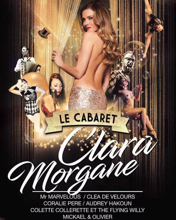 Suivez Julien Fombaron alias #MrMarvelous avec le #cabaret de CLARA MORGANE Officiel ! Actuellement en tournée ! http://www.c2laure.com/mr-marvelous/