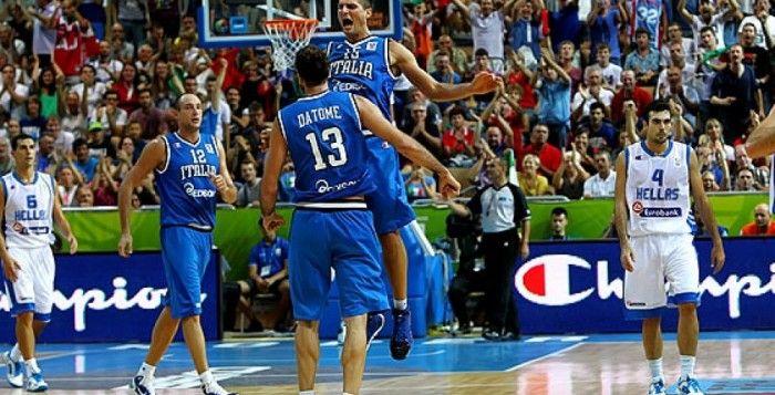 Europei basket 2013: super Italia, anche la Grecia va ko