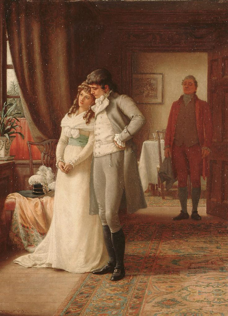 Romantic Era Paintings Of Couples 1000+ images about Rom...