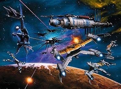 Babylon 5 great artwork