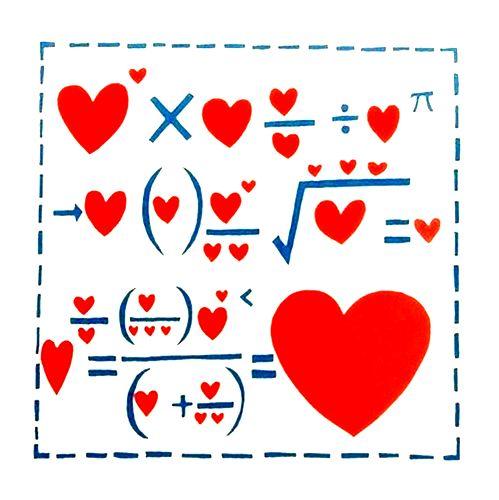 Szerelem egyenlete.