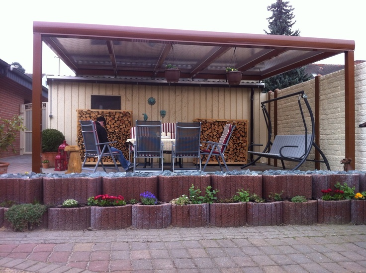 83 best images about alu terrassen berdachung rexopremium kundenbilder on pinterest un uv. Black Bedroom Furniture Sets. Home Design Ideas
