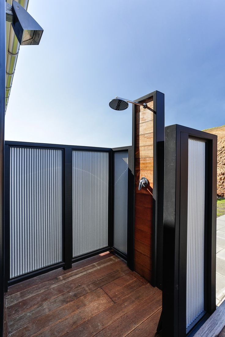 Outdoor showers perfect for those summer holidays