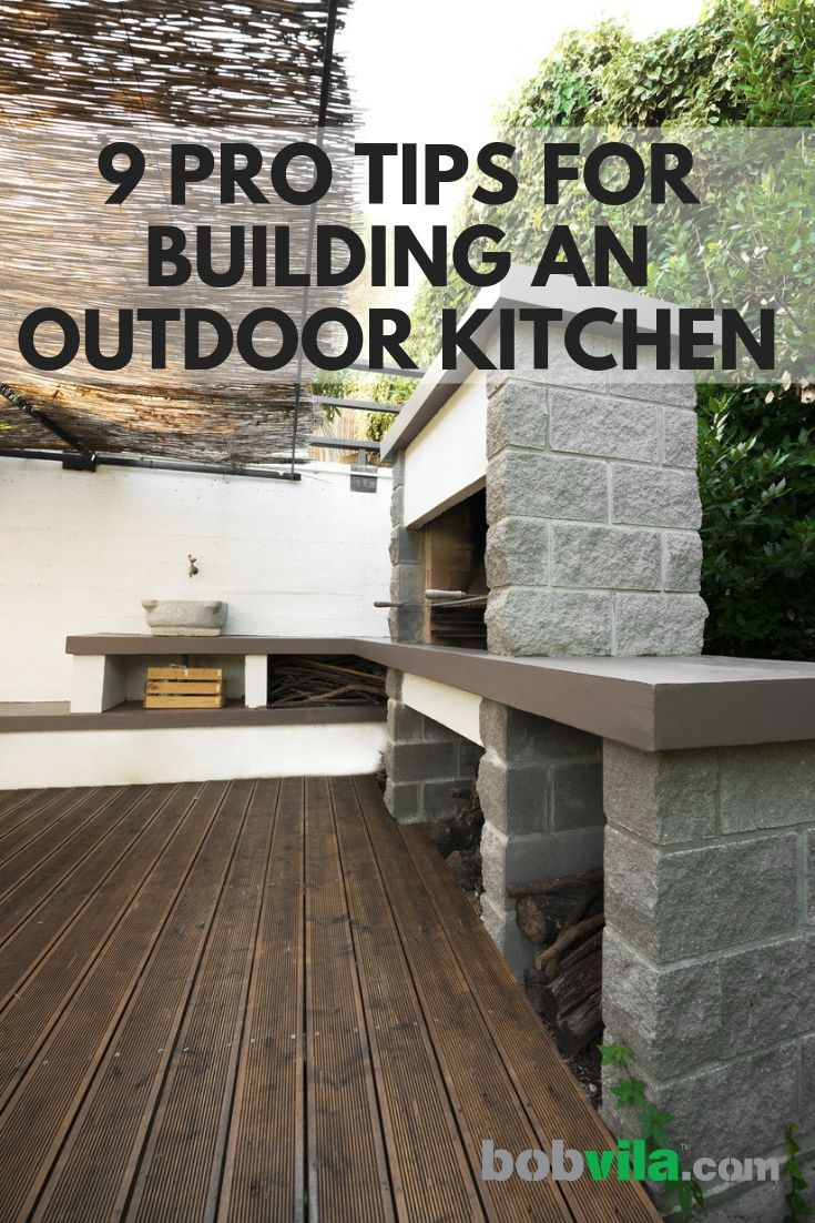 9 Pro Tips For Building An Outdoor Kitchen Build Outdoor Kitchen Outdoor Lighting Outdoor Light Fixtures