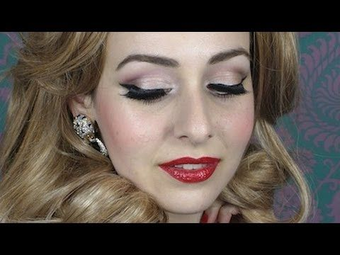 Classic 1950s Glamour: Adele Makeup Tutorial, Grammy Awards 2012    she is amazing this is how im doing my makeup for prom
