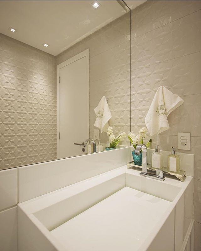 226 best images about Banheiros  Bathrooms  Baños  Cerâmica Portinari on P -> Nicho Banheiro Cerâmica
