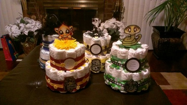 cakes harry potter baby shower pinterest cakes diaper cakes and