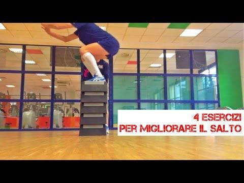 4 Exercises to jump higher in Volleyball - YouTube