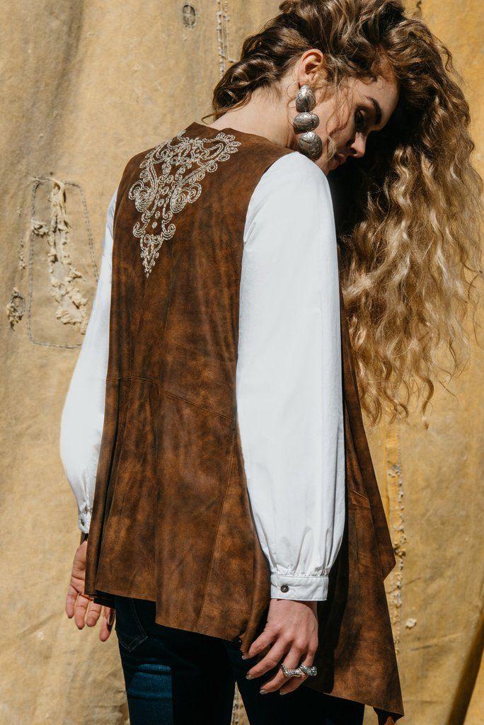 Basque Shepherd Vest by Double D Ranch | Mi Tierra Collection, Pre-Fall 2016