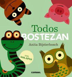 "Anita Bijsterbosch. ""Todos Bostezan"". Editorial Combel. (Groc)."