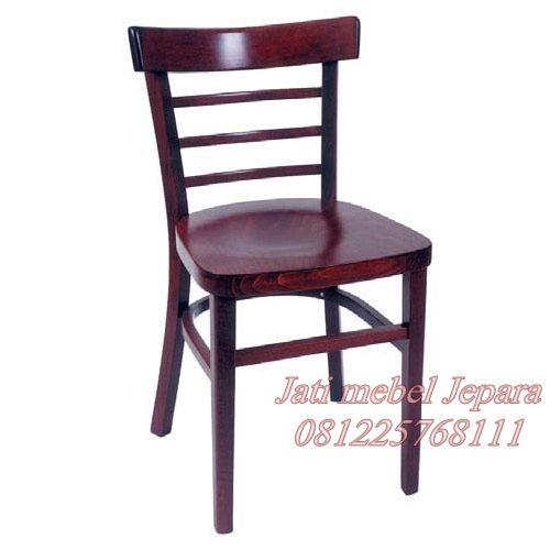 Jual kursi cafe minimalis terbaru kayu jati jepara kuat dan tahan lama. kursi cafe model minimalis terbaru kayu jati solid yang simpel untuk cafe furniture.