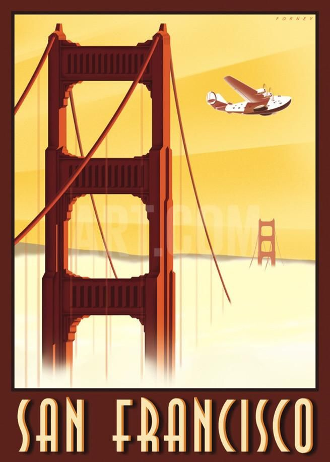 165 best travel posters - San Francisco images on Pinterest ...
