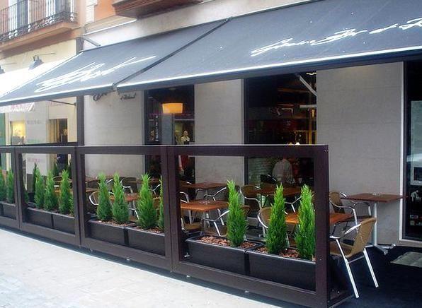 Terraza By Le Bistr Capuccino Bar Et Restaurante Un Caf Una Caa O Una Copa Emos O Cenamos En La Terraza Ms Cool Restaurant Exterior Cafe Exterior Outdoor Cafe