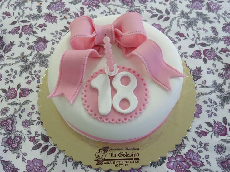Tarta de 18 cumpleaños