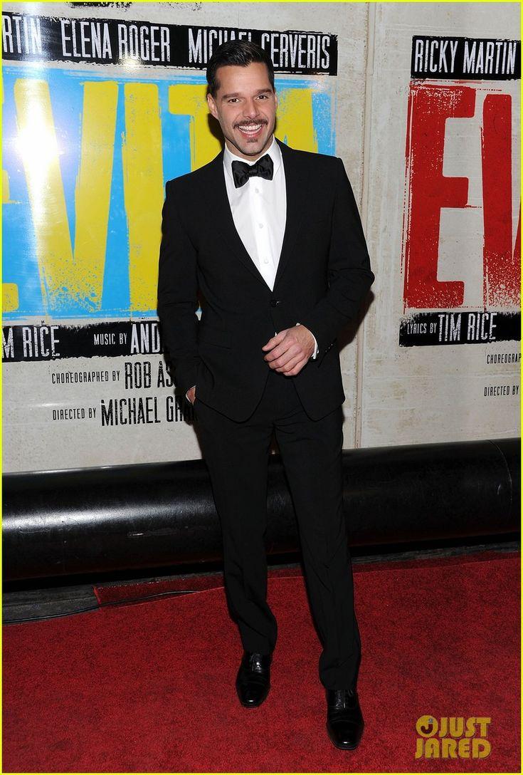 Ricky Martin in Evita Broadway Opening Night #Evita #MarquisTheatre #NyNewYork #AskaTicket