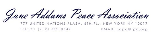Jane Addams Peace Association History of the Book Awards