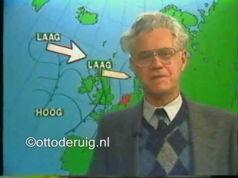 Weerman Jan Pelleboer 1983 onze Pelleboer nog zeg ik altijd ik zal ff mailen naar hem wat voor weer het word. Hem vergeet ik nooit.