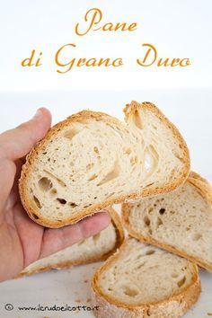 Pane di Grano Duro  http://www.ilcrudoeilcotto.it/2014/08/pane-grano-duro/
