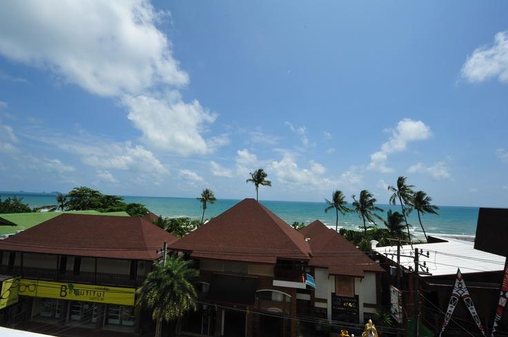 view from roof top Baan Sai Kao Koh Chang