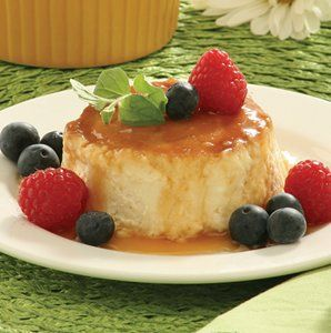 Recipe for Upside-Down Honey Cheesecakes