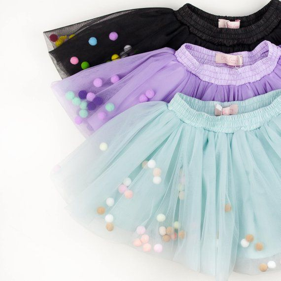 57af2804b Mint tutu skirt for girls, mint tutu pom pom, pastel tutu infant, tutu
