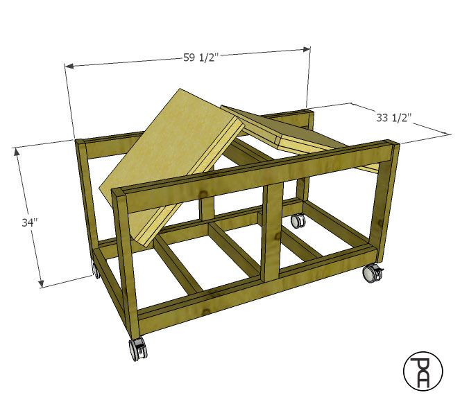 Double Ended Flip Top Workbench Building Plans Workbench Plans Workbench Woodworking