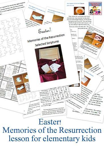 Easter lesson resurrection for kids