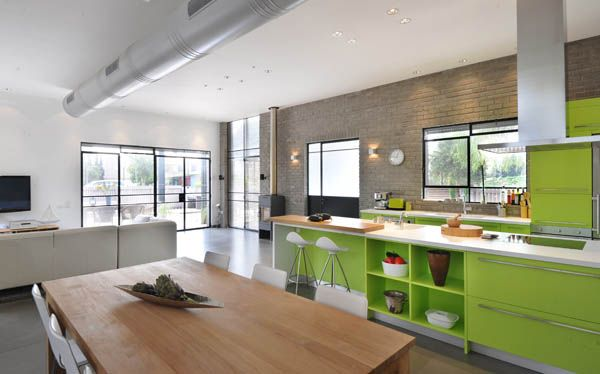 Kibuts House by Sharon Neuman Architects 7 Contemporary Brick Cube Kibuts House For Father And Son