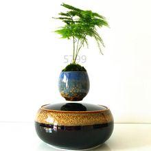 2016 japón de alta tecnología productos de levitación magnética de aire bonsai (no planta) de cerámica maceta cultura 101 envío…