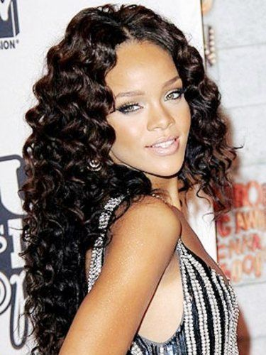 2012 Hot Sale Celebrity Wigs 18RIHANNA DEEPWAVE FULL LACE WIG Brazilian Remy HUMAN HAIR 2/4 by Brazilian Remy HUMAN HAIR Wigs. $339.99. This TOP CLASS AAA QUALITY human hair LACE WIG is brand new, extra special and unique with lace intact and uncut. This lace wig also comes with a FREE step by step personalised full Lace Wig Application and Maintenance Guide! So no worries about how to apply or care for your unit. All wigs are 100% human hair; Can be Curled, Waved, Straig...