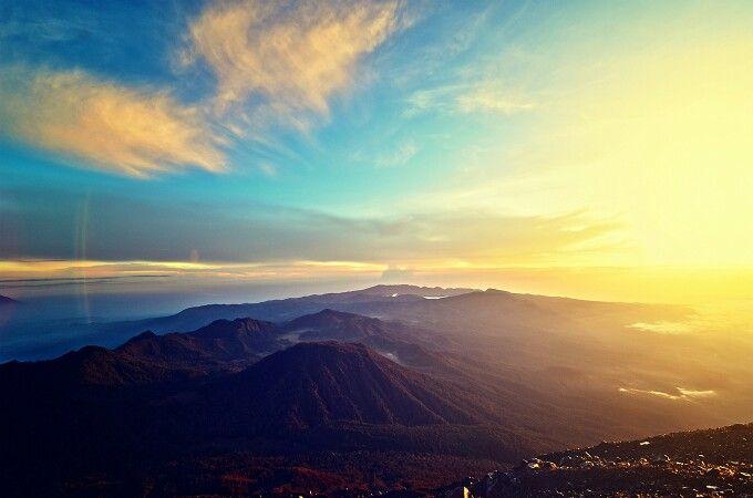 Mahameru, puncak gunung semeru