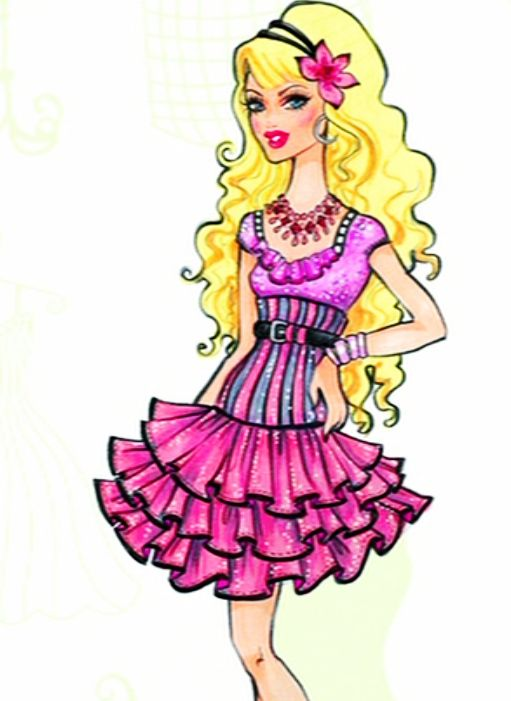 41 best Barbie images on Pinterest Birthdays, Anniversary cakes - copy coloring pages of barbie a fashion fairytale