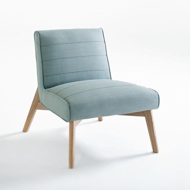 Le fauteuil Jimi: ce fauteuil affiche son caractère néo-rétro et moderne avec ses pieds en frêne ! Un confort et un style remarquables.Dimensions du fauteuil de table Jimi :Longueur : 63 cm Hauteur : 73 cmProfondeur : 77 cmAssise : L 63 x H 43 x P 51 cmDescription du fauteuil Jimi :- Piètement en frêne massif vernis nitrocellulosique- Revêtement 80% polyester, 20% lin avec fausses coutures contrastantes sur la largeurConfort :- Garnissage coussins assise et dossier : mousse polyester 22…