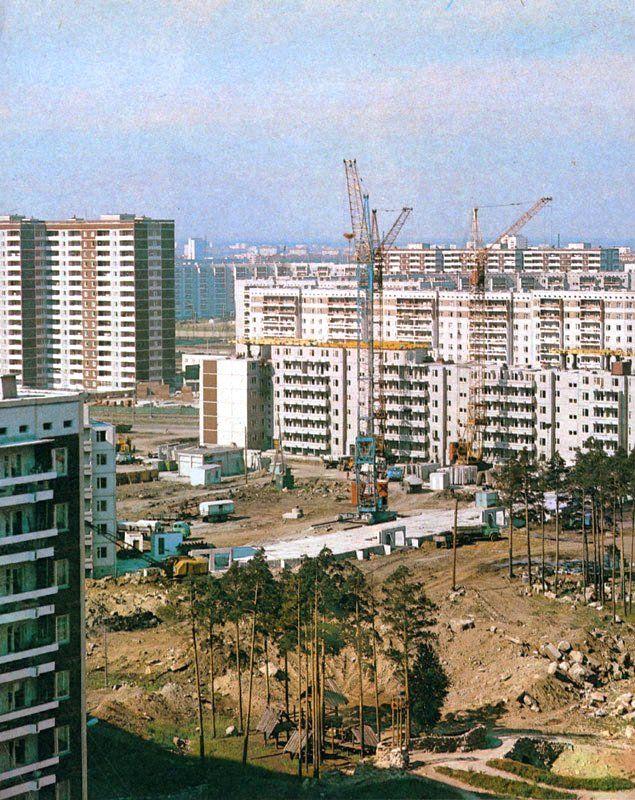 Молодёжный жилой комплекс в Свердловске, 1985 год