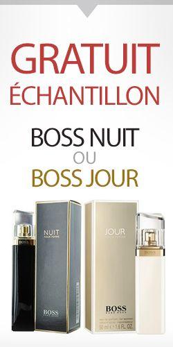 Échantillon de parfum Hugo Boss Nuit ou Jour. Jusqu'à épuisement des stocks. http://rienquedugratuit.ca/produits-de-beaute/echantillon-parfum-hugo-boss/