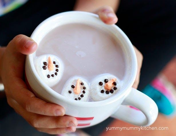 Yummy Mummy Kitchen: Snowman Marshmallows & Olaf Marshmallows