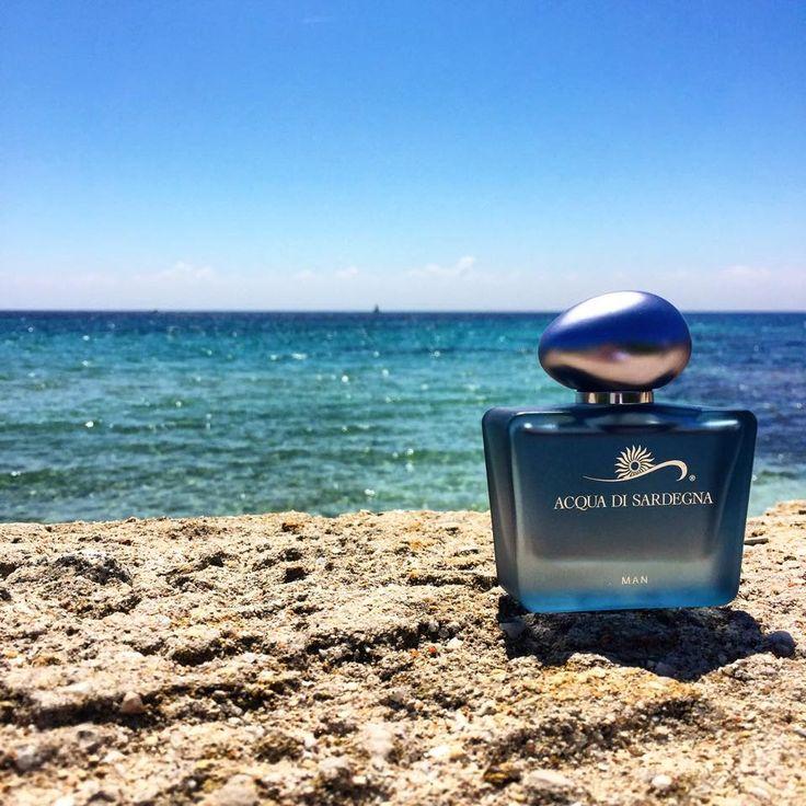 Il ricordo e la freschezza dell'estate possono arrivare fin qui...Acqua di Sardegna Man.