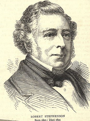https://flic.kr/p/7dcT11 | 002052:Robert Stephenson 1803-1859 | Description : Robert Stephenson Railway and civil engineer. Born willington Quay son of George Stephenson. Over saw the building of the Rocket locomotive at the Robert Stephenson works in Newcastle. Famous railway and bridge builder most notably the High Level Bridge in Newcastle-Upon -Tyne and the Royal Border Bridge in Berwick -Upon-TweedBiography Source of Information : Donated in 1923. Printed Copy : If you would like a…