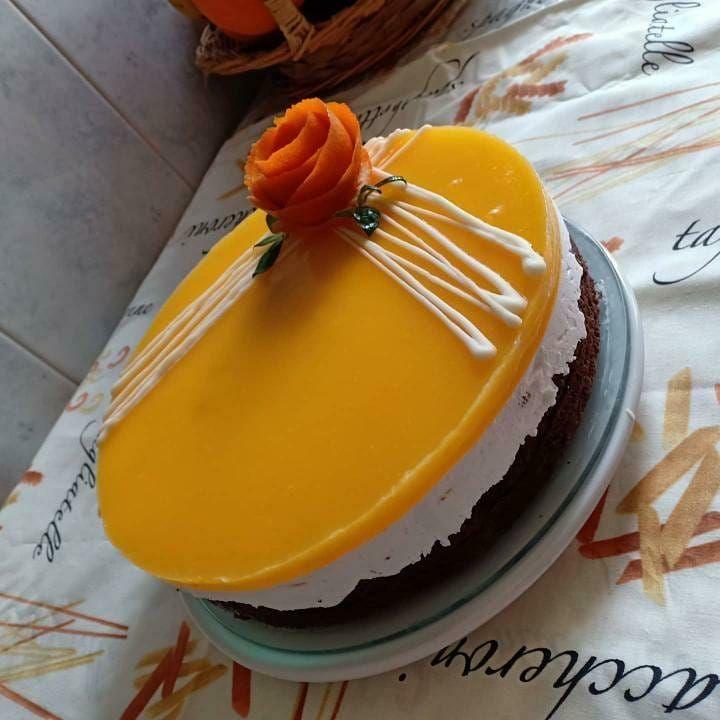 451 Mentions J Aime 6 Commentaires شهيوة و قهيوة Sh Hiwa W 9hiwa Sur Instagram تشيز كيك بالبرتقال تشيز كيك البرتقال من حساب Food Cake Desserts