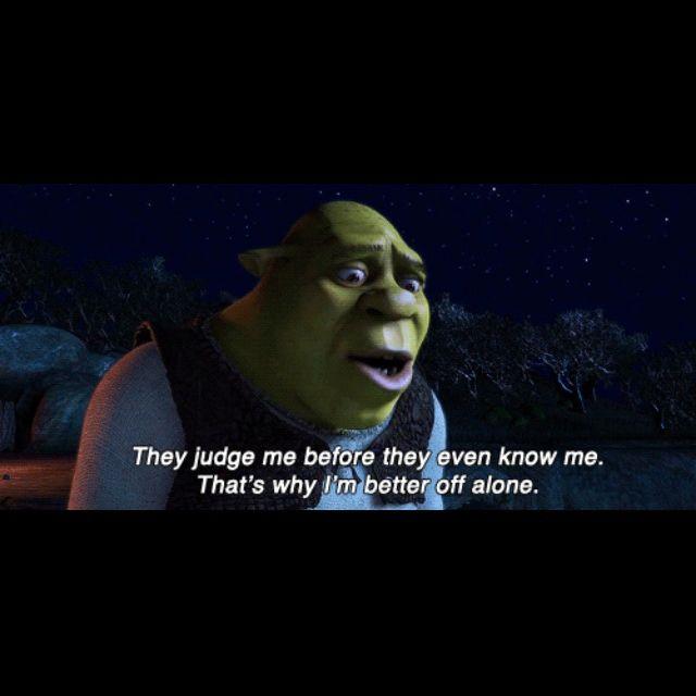 Best Shrek Quotes: 34 Best I'm A Donkey On The Edge. Images On Pinterest