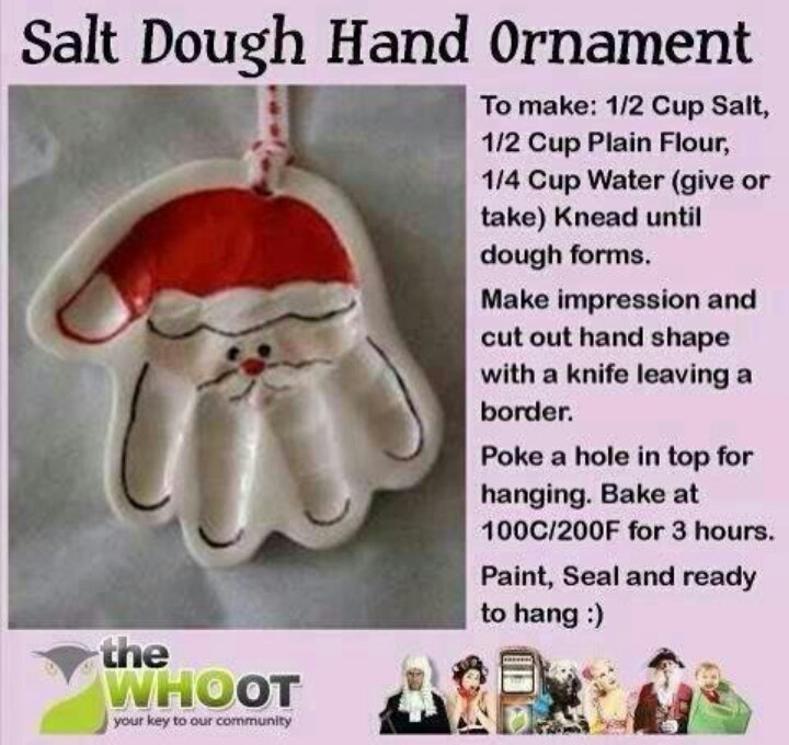 Great gift for grandparents from baby for their first christmas!
