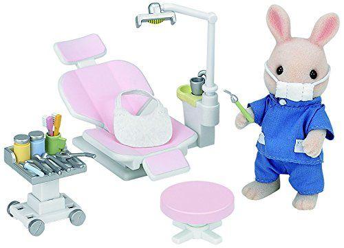 Sylvanian Families - 2817 - Poupée - Dentiste Et Accessoires